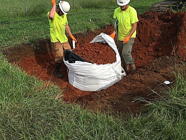 Site Remediation Project for Alabama Research Facility